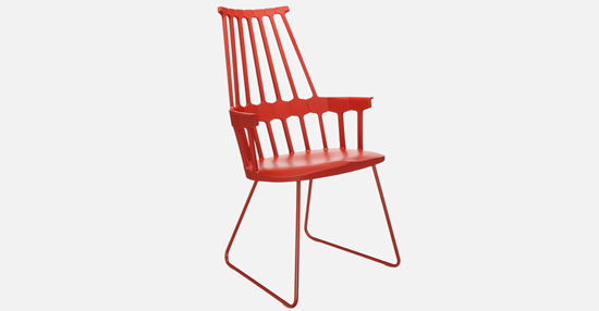 truedesign_kartell_comback_sled_red_armchair