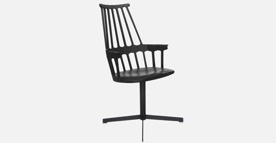 truedesign_kartell_comback_swivel_black_armchair