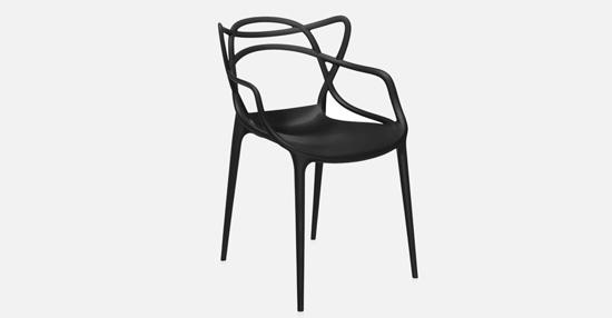 truedesign_kartell_masters_black_armchair