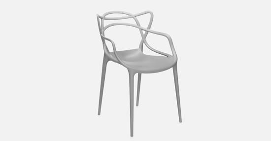 truedesign_kartell_masters_grey_armchair