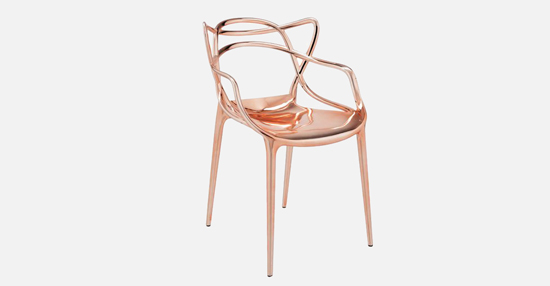 truedesign_kartell_masters_metallic_copper_armchair