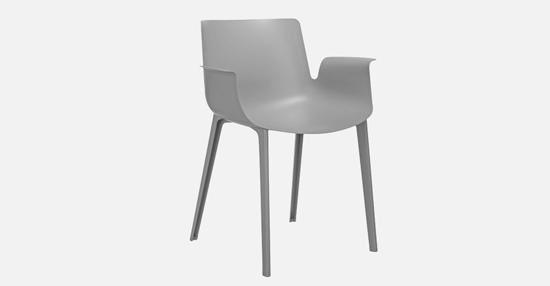 truedesign_kartell_piuma_grey_armchair