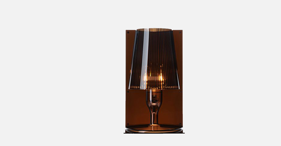 trudesign_kartell_take_lamp_brown_lights