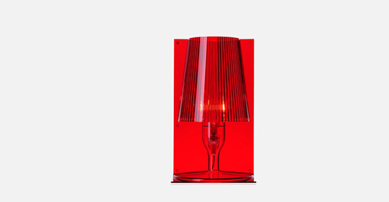 trudesign_kartell_take_lamp_red_lights