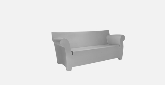 truedesign_kartell_bubble_club_grey_sofa