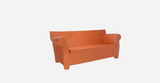 truedesign_kartell_bubble_club_red_sofa
