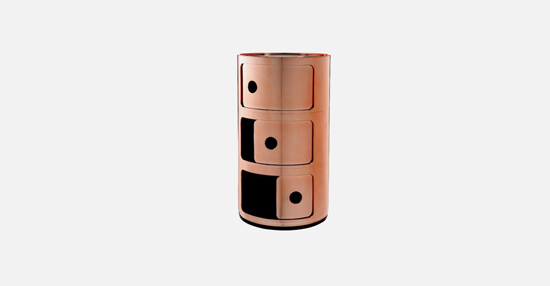 truedesign_kartell_componobili_metallic_copper_3tier_accessory