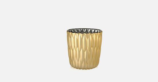 truedesign_kartell_jellie_gold_vase