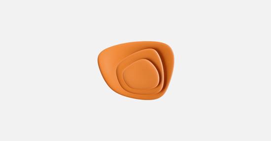truedesign_kartell_namaste_orange_plates